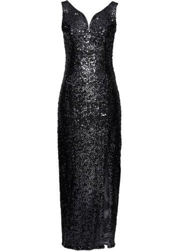 Платье с пайетками (серебристый)