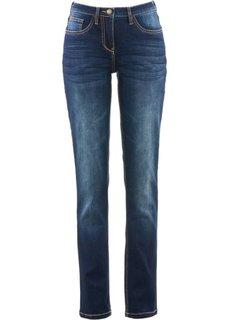 Прямые стретчевые джинсы удобного покроя, cредний рост (N) (синий) Bonprix