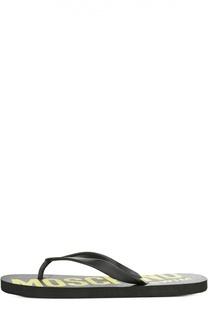 Пляжные сабо Moschino