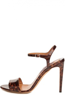 Лаковые босоножки Blianna на шпильке Ralph Lauren