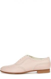 Кожаные ботинки Quintin III с перфорацией Ralph Lauren