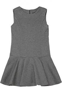 Платье джерси с оборками Dal Lago