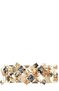 Браслет с кристаллами Lanvin