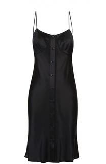 Шелковое платье-комбинация с открытой спиной Rag&Bone Rag&Bone