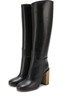 Кожаные сапоги Querelle на устойчивом каблуке Gucci