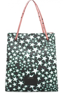 Сумка-шоппер B.Y.O.T. из текстиля с принтом Marc Jacobs