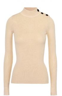 Облегающий пуловер фактурной вязки с воротником-стойкой Isabel Marant Etoile