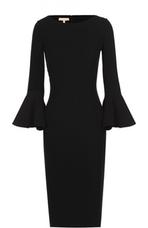Платье-футляр с укороченным расклешенными рукавами Michael Kors