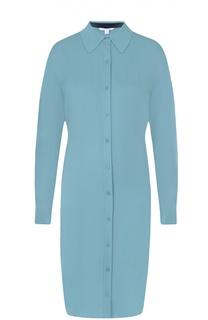 Шелковое платье-рубашка прямого кроя Diane Von Furstenberg