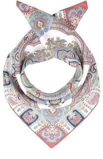 Шелковый платок с принтом Michele Binda