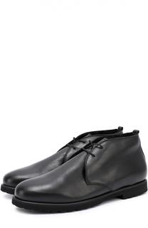 Кожаные ботинки с внутренней меховой отделкой Rocco P.