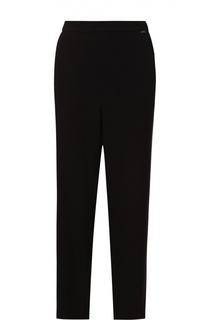 Укороченные брюки прямого кроя с карманами St. John