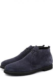 Замшевые ботинки с внутренней меховой отделкой Rocco P.