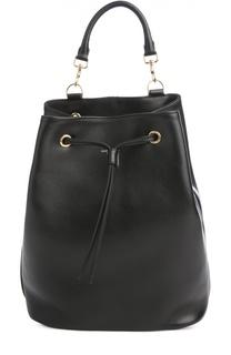 Кожаный рюкзак Emmanuelle Saint Laurent