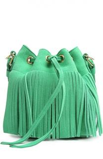 Замшевая сумка Emmanuelle small Saint Laurent