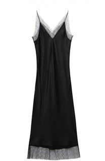 Платье-комбинация с кружевной отделкой Walk of Shame