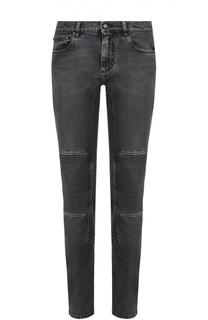 Зауженные джинсы с декоративной отделкой Belstaff