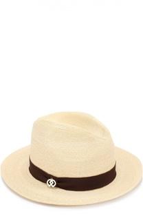 Соломенная шляпа с лентой Dsquared2