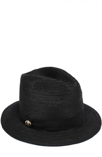 Шляпа из вискозы с лентой Dsquared2