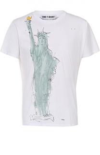 Хлопковая футболка с принтом One-T-Shirt