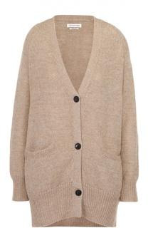 Удлиненный кардиган с накладными карманами и V-образным вырезом Isabel Marant Etoile
