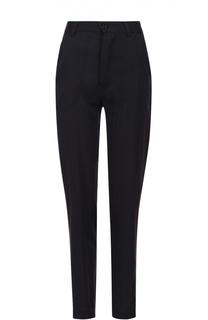 Хлопковые брюки прямого кроя с карманами Isabel Marant Etoile