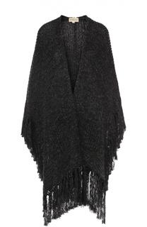 Удлиненный кардиган фактурной вязки с бахромой Denim&Supply by Ralph Lauren