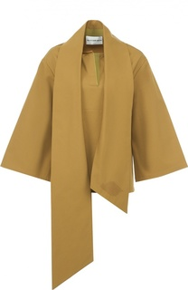 Блуза асимметричного кроя с широкими рукавами Walk of Shame