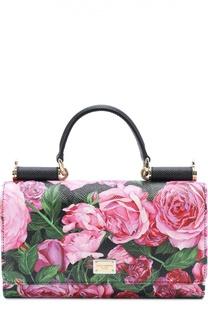 Клатч Sicily с цветочным принтом Dolce & Gabbana