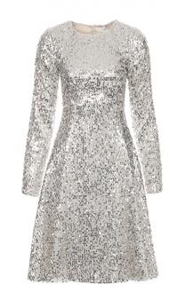 Приталенное платье с длинным рукавом и пайетками Walk of Shame