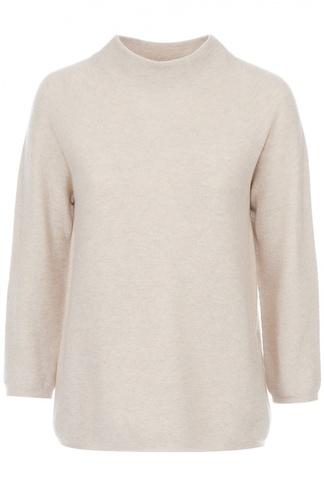 Пуловер свободного кроя с укороченным рукавом HUGO