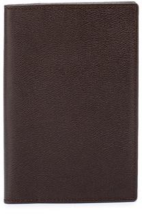 Кожаная обложка для паспорта с отделением для кредитных карт Smythson