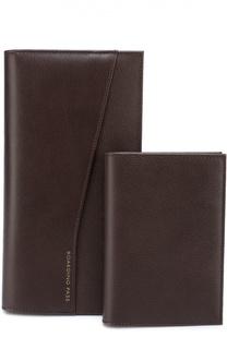 Комплект из бумажника и обложки для паспорта Smythson