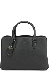 Кожаная сумка-тоут Chelsea DKNY