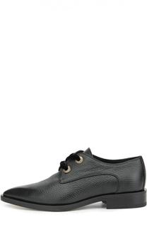 Кожаные ботинки с зауженным мысом Lanvin