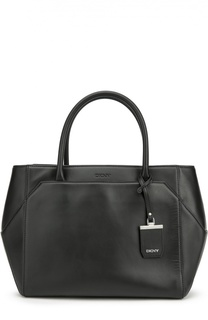 Кожаная сумка-тоут 3D DKNY