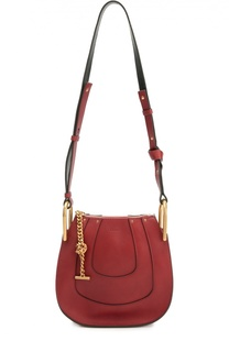 Кожаная сумка Hayley Chloé