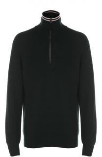 Шерстяной свитер с воротником на молнии Lanvin