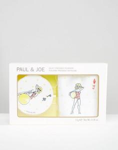 Защитная шелковистая компактная пудра ограниченной серии Paul & Joe - Бежевый