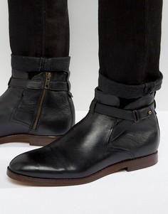 Кожаные ботинки Hudson London Cutler - Рыжий