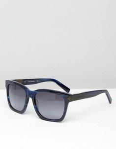 Квадратные солнцезащитные очки Karl Lagerfeld - Синий