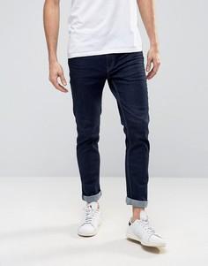 Темно-синие джинсы скинни Produkt - Синий