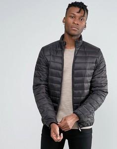 Стеганая куртка Burton Menswear - Черный