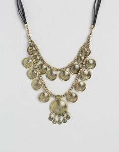 Ожерелье с дисками DesignB - Золотой