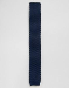 Темно-синий трикотажный галстук Feraud - Темно-синий
