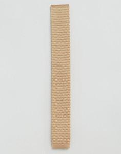 Светло-коричневый вязаный галстук Feraud - Рыжий