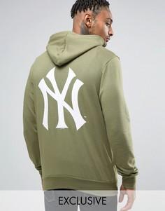 Худи с принтом на спине Majestic Yankees эксклюзивно для ASOS - Зеленый