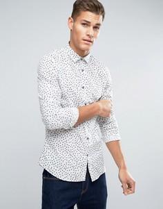 Рубашка с принтом Lindbergh - Белый