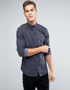 Рубашка с принтом Lindbergh - Черный