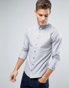Оксфордская рубашка с планкой на пуговицах Lindbergh - Бежевый